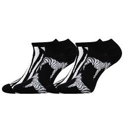 Duo 01 zokni - zebra - 2 pár - Boma