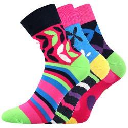 Ivana 57 zokni - mix - 3 pár - Boma