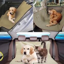 Védőhuzat autóba kutyákhoz és macskákhoz