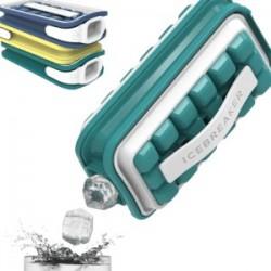 Hordozható jégkészítő vizespalackkal - 2 in 1 - zöld