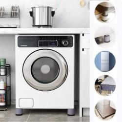 Gumi antivibrációs alátét mosógép vagy szárítógép alá - 4 db