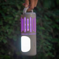 InnovaGoods Kl Tower 3in1 mobil rovarriasztó lámpa, zseblámpa és lámpás