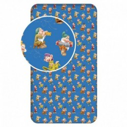 BedStyle gyermek pamut lepedő - Hófehérke - 90 x 200 cm