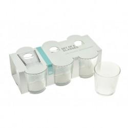 Pohár készlet - 250 ml - 6 db - Excellent Houseware