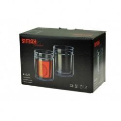 Termo pohár készlet - 230 ml - 2 db - Simax