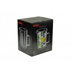Üveg termo kancsó - 1000 ml - Simax