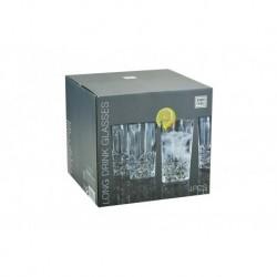 Pohár készlet koktélokra - 260 ml - 4 db