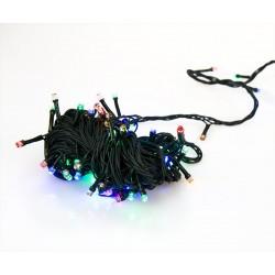 Karácsonyi fényfüzér - 300 LED - 30 m - színes
