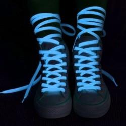 Világító cipőfűző - kék