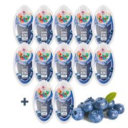 Aroma King áfonyás pattintható aromagolyó szett - 10+2 csomag INGYEN - 1200 db