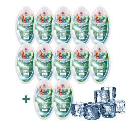 Aroma King mentolos pattintható aromagolyó szett - 10+2 csomag INGYEN - 1200 db